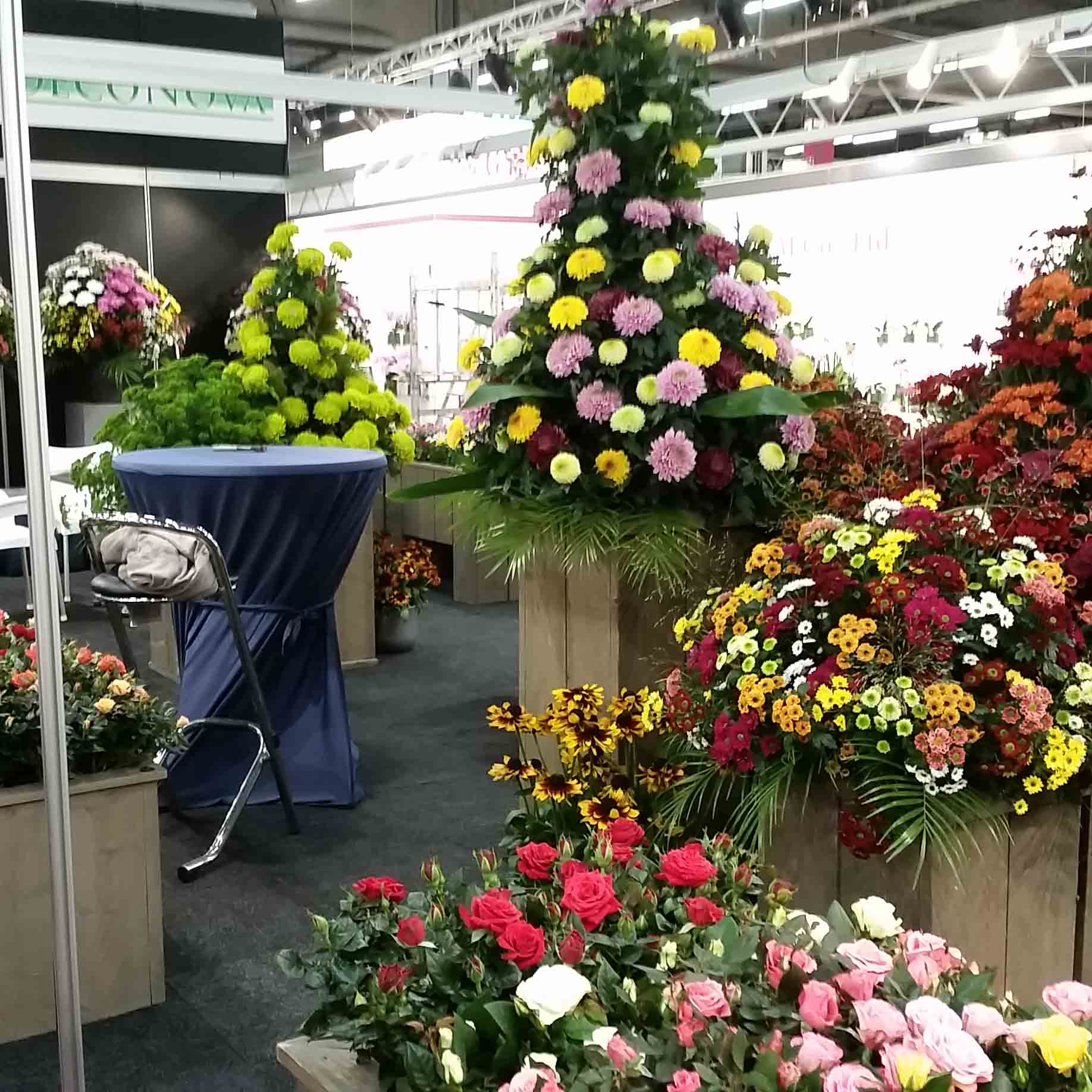Visit DecoNova At The Royal Flora Holland Tradefair In Aalsmeer